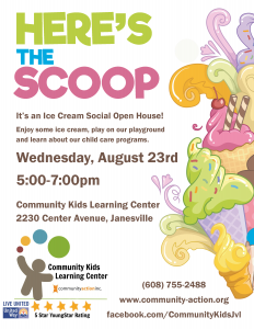 Ice Cream Social Open House @ Community Kids Learning Center | Janesville | Wisconsin | United States